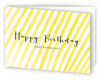 Stripey Greeting Cards