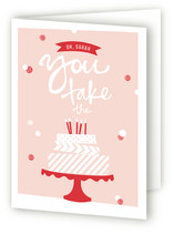 Washi Tape Birthday Cake Greeting Cards