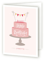Birthday Cake Greeting Cards