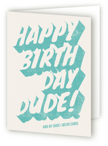 Dude Greeting Cards
