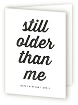 Older than Me Greeting Cards