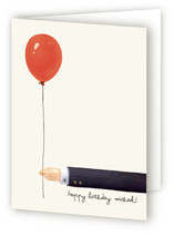 Gentleman&#039;s Balloon Greeting Cards
