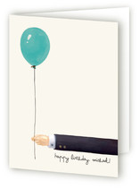 Gentleman's Balloon Greeting Cards