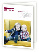 The Minimal Birthday Greeting Cards