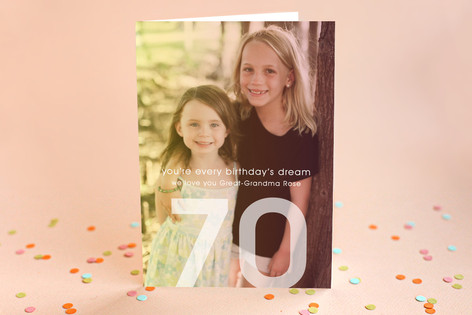 A Birthday's Dream Birthday Greeting Cards
