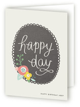 Scalloped Frame Greeting Cards