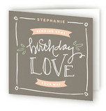 Sending Birthday Love Greeting Cards