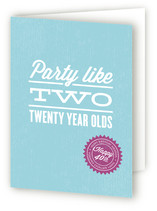 Party Hard Greeting Cards