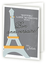 Happy Birthday from France Greeting Cards