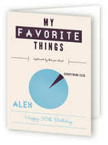 Favorite Infographic Greeting Cards