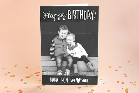 Fun Chalkboard Birthday Greeting Cards