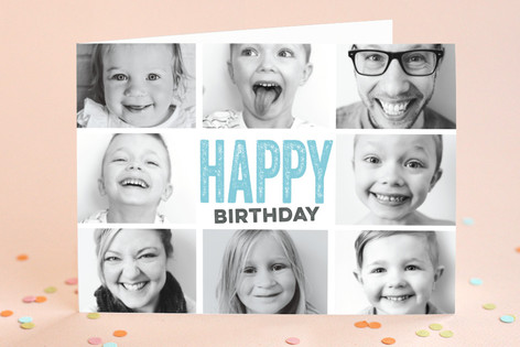 Snapshots Birthday Greeting Cards