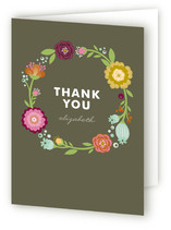 Garden Party Adult Thank You Greeting Cards