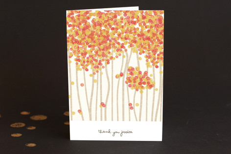 Nature's Confetti Adult Thank You Greeting Cards