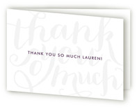 Chic Graffiti Adult Thank You Greeting Cards
