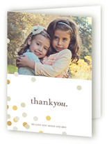 Confetti Scatter Adult Thank You Greeting Cards