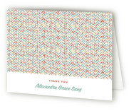 Twisted Tweed Graduation Thank You Cards