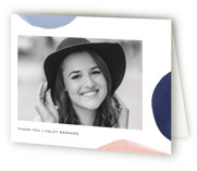 Modern Abstracts Graduation Thank You Cards
