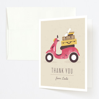 Mod Move Graduation Thank You Cards