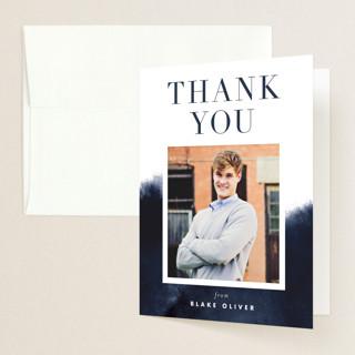 Bold Statement Graduation Thank You Cards