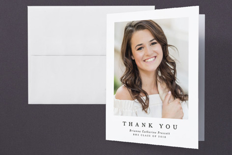 Proudly Graduation Thank You Cards