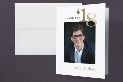 Big Year Graduation Thank You Cards