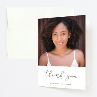 The Minimalist Graduation Thank You Cards