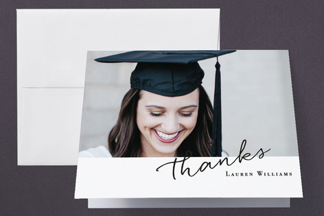 Essentials Graduation Thank You Cards