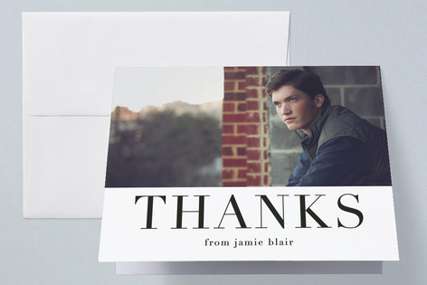 simply 2017 Graduation Thank You Cards