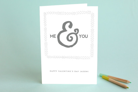 Me You Valentine's Day Greeting Cards