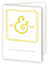 Me You Valentine&#039;s Day Greeting Cards