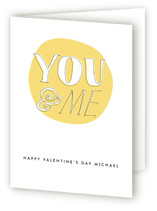 You and Me Valentine&#039;s Day Greeting Cards