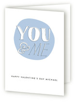 You and Me Valentine's Day Greeting Cards