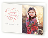 Live, Laugh, Love Valentine's Day Greeting Cards