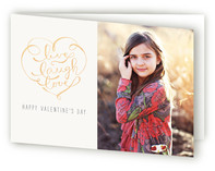 Live, Laugh, Love Valentine&#039;s Day Greeting Cards