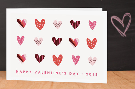 Heart Party Valentine's Day Greeting Cards