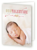 First Valentine Valentine&#039;s Day Greeting Cards
