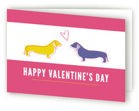Puppy Love Valentine's Day Greeting Cards