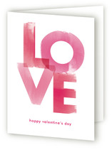 Watercolor Love Valentine's Day Greeting Cards