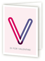 V is for Valentine Valentine's Day Greeting Cards