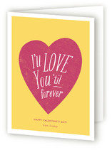 Til Forever Valentine&#039;s Day Greeting Cards