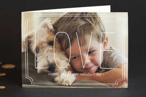 Grand Love Valentine's Day Greeting Cards