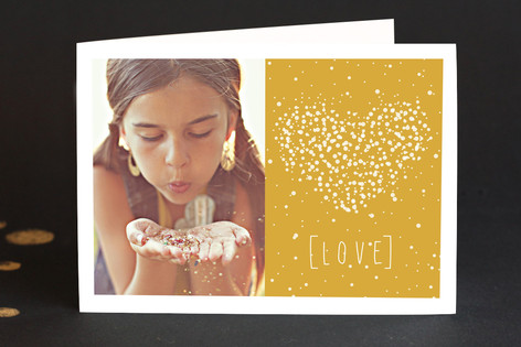 Stardust Valentine's Day Greeting Cards