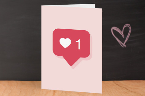 Instagram Like Valentine's Day Greeting Cards