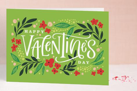 Wildflower Valentine Valentine's Day Greeting Cards