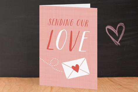 Sending Love Valentine's Day Greeting Cards