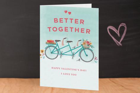 In Tandem Valentine's Day Greeting Cards