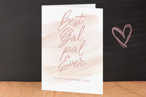Best Gal Pal Ever Valentine's Day Greeting Cards