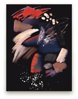 Pastel abstract splatte... by Oana Prints