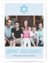 Hanukkah Watercolor by Amanda Larsen Design